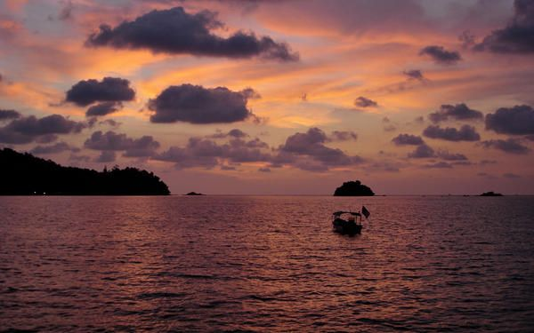 #Sunset - Pangkor & Pangkor Laut - die Perlen vor Peraks Küste » #Malaysia Urlaub