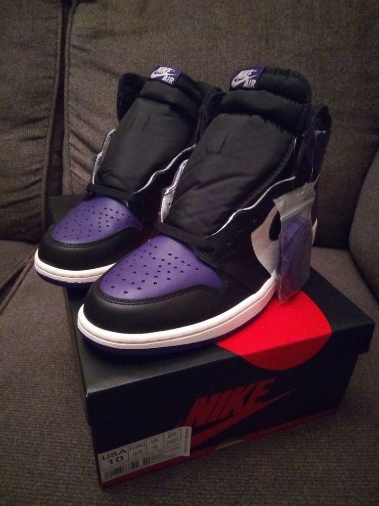 ef4dca706c3850 Air Jordan 1 Retro High OG Court Purple Size 10 (Men) purple White black   fashion  clothing  shoes  accessories  mensshoes  athleticshoes (ebay link)