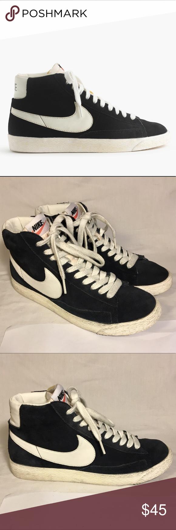 Nike® Blazer high suede vintage sneakers Nike® Blazer high suede vintage  sneakers / J