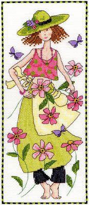 3 Flower Lady