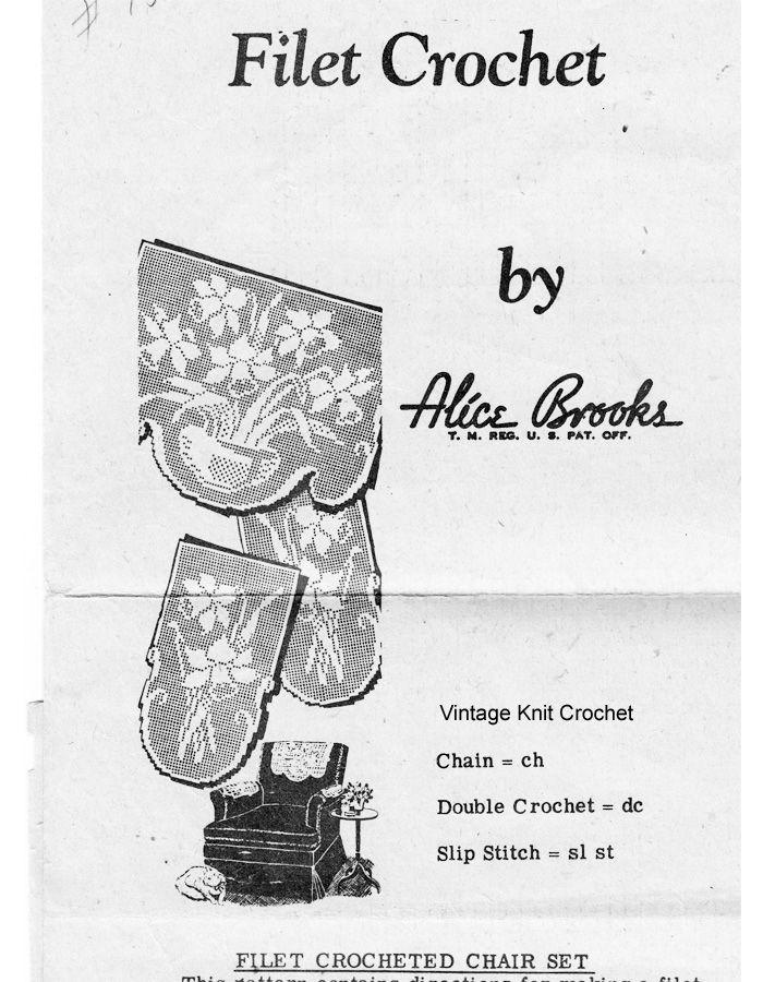 Crochet Rag Rug Pattern, Flower Medallions, Alice Brooks