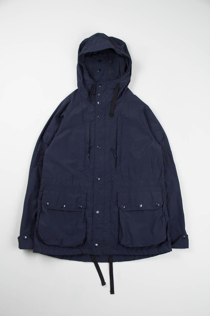 Engineered Garments Dark Navy Nyco Poplin Field Parka