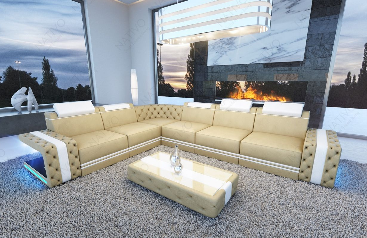 Ledersofa Imperial Bei Nativo Mobel Oesterreich Ledersofa Sofa Design Sofa