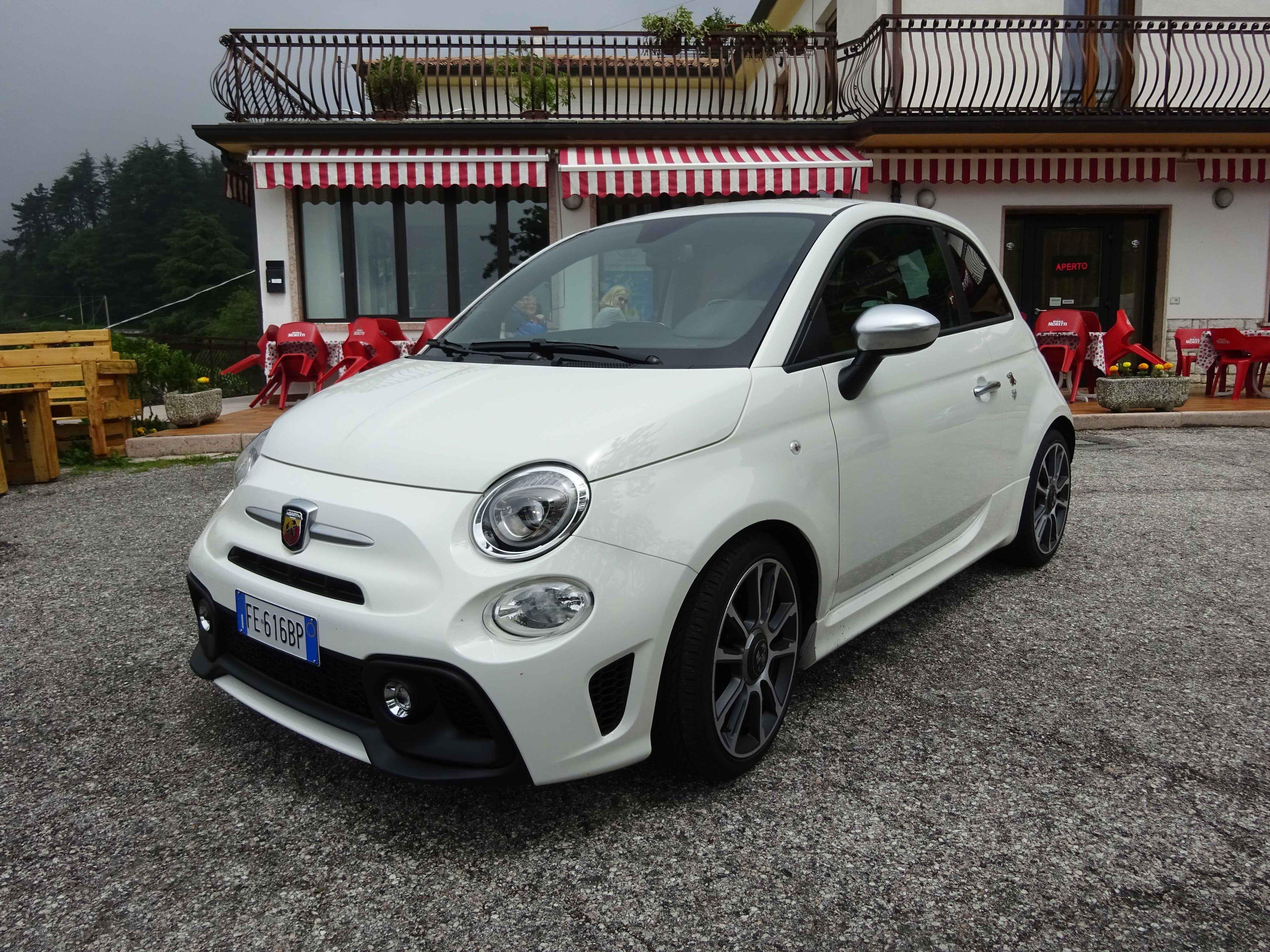 Test Drive & Sound Abarth 595 Turismo 165 cv | Cinquecento ...
