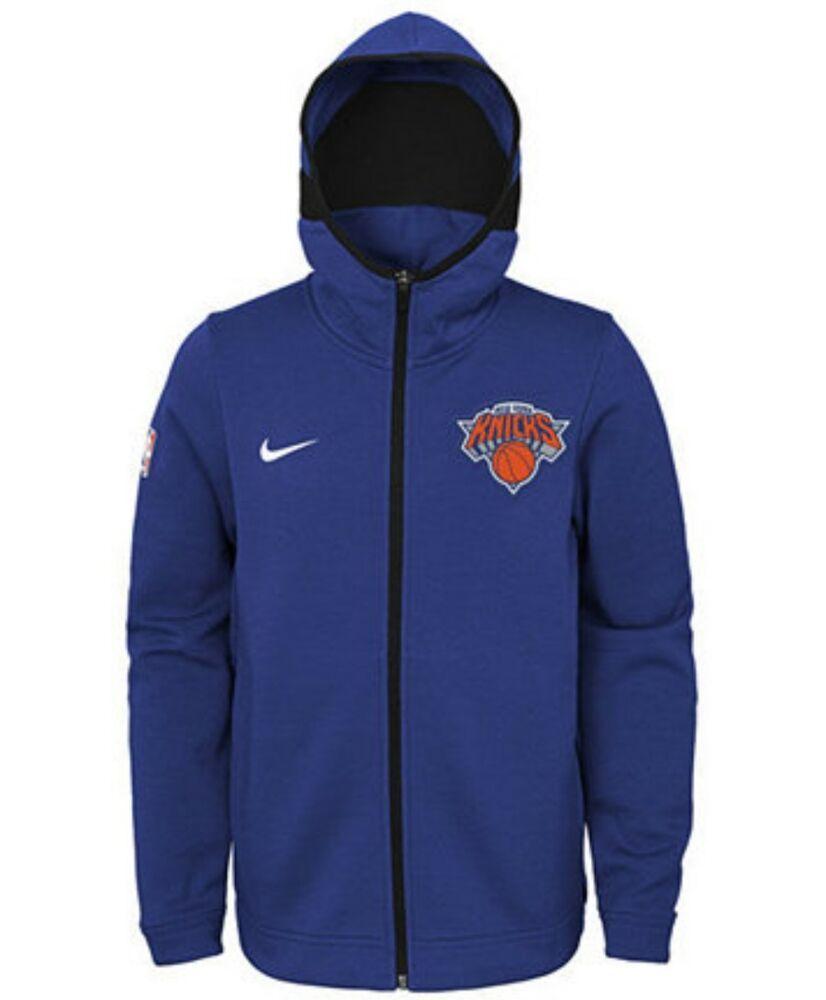 Ebay Sponsored Nike Boys Nba New York Knicks Dry Showtime Hoodie Jacket Size Medium 10 12 M New Full Zip Hoodie Hoodies Jackets