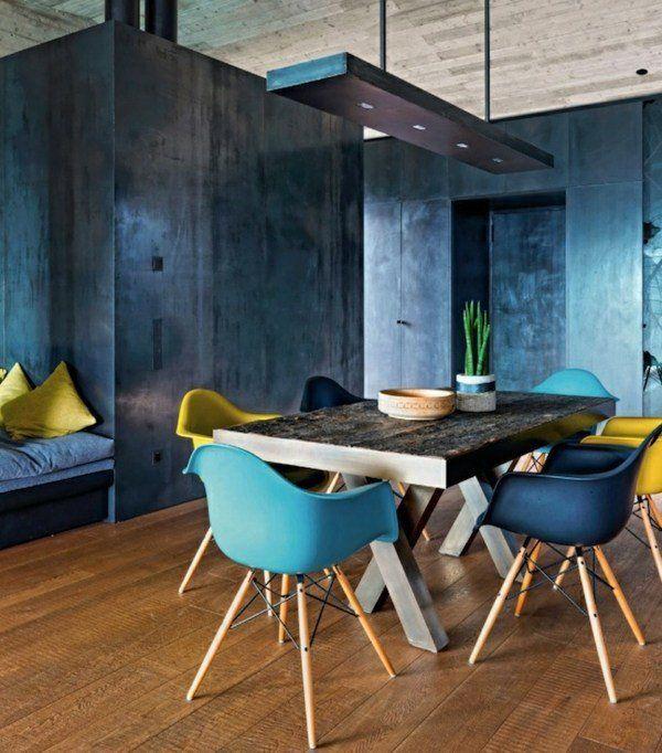 107 idées fantastiques pour une salle à manger moderne | style ... - Couleur Pour Une Salle A Manger