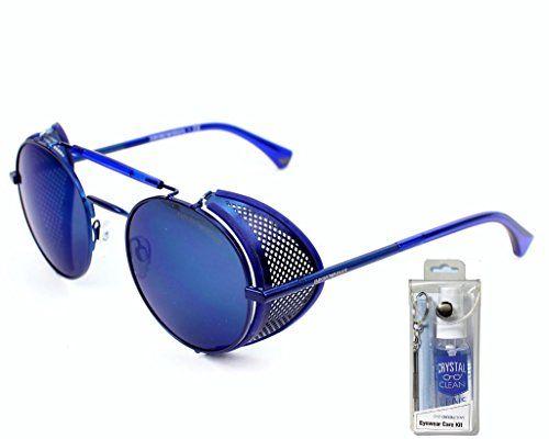 806610b59c2 Emporio Armani EA2017Z 305096 Matte Blue Dark Gray Sunglasses Bundle-2  Items Emporio Armani