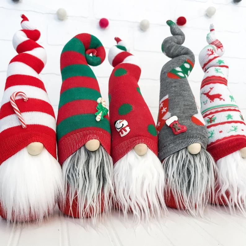 Christmas Gnome Pattern - DIY Sock Gnome Pattern - DIY Gnome Tutorial - Sock Gnome - PDF Sewing Pattern Download - Valentine's Day Gnome