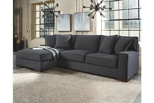 Best Gamaliel 2 Piece Sectional By Ashley Homestore Gray 640 x 480