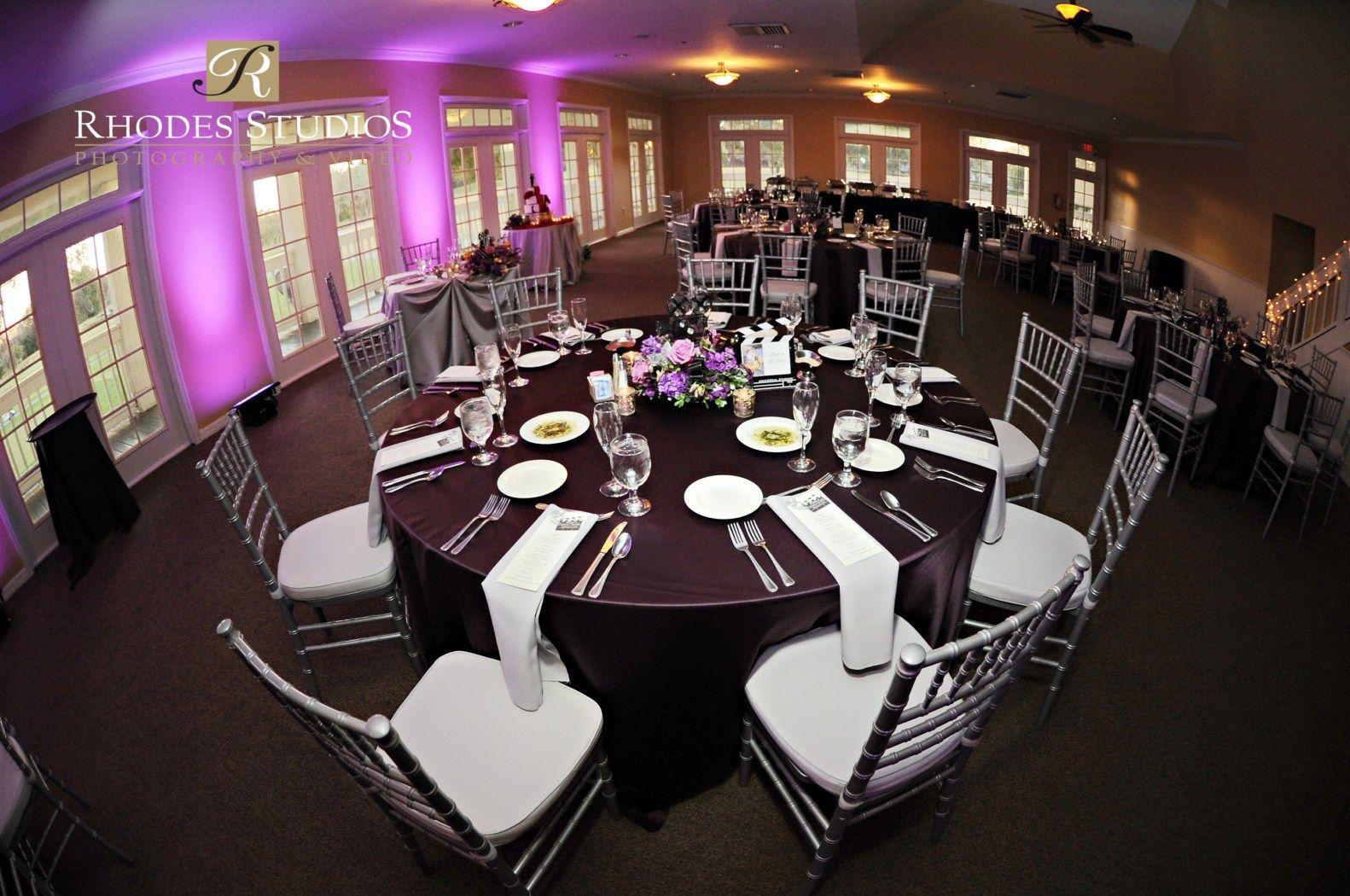 Orlando Wedding Als Silver Chiavari Chairs Tuscawilla Country Club