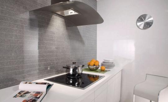 Silex gris azulejo cocina cocina pinterest for Azulejos keraben cocinas