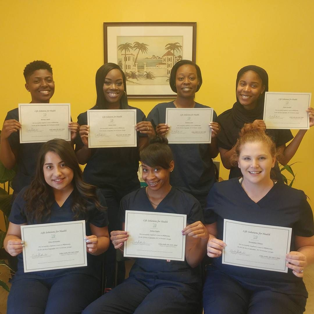 Phlebotomy students from our august 2017 class phlebotomy phlebotomy students from our august 2017 class phlebotomy healthcaretraining xflitez Images