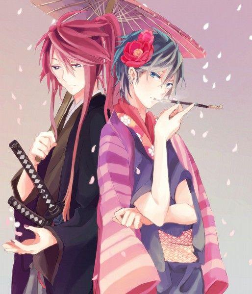 Vocaloid - Kaito and Gakupo