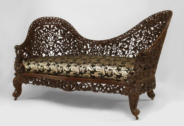 Asian burmese furniture