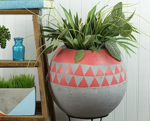 Create this project with Patio Paint Outdoor  Decorate a concrete accent  for the patio