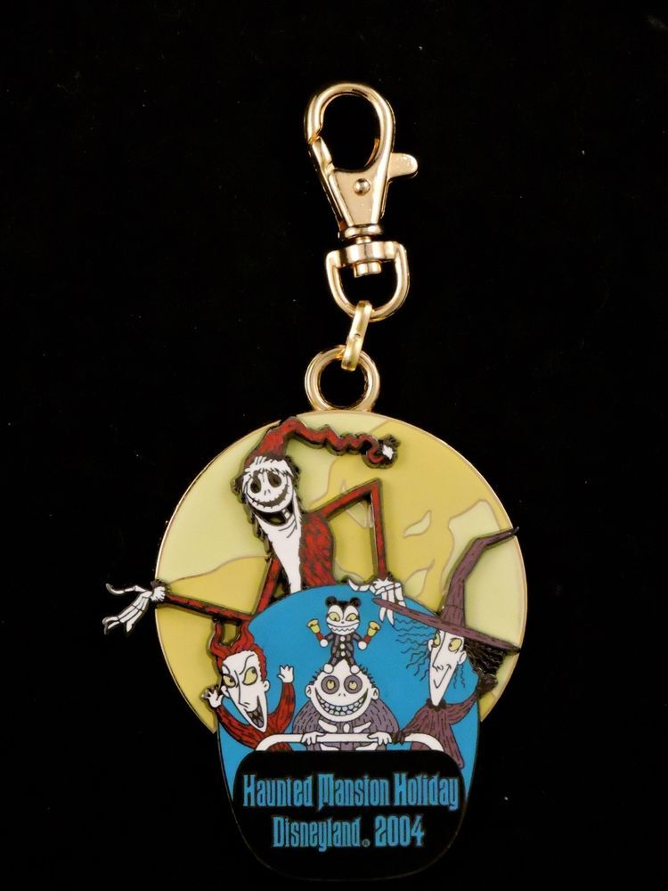 DISNEY DLR-HMH 2004 LANYARD MEDALLION NIGHTMARE BEFORE CHRISTMAS ...