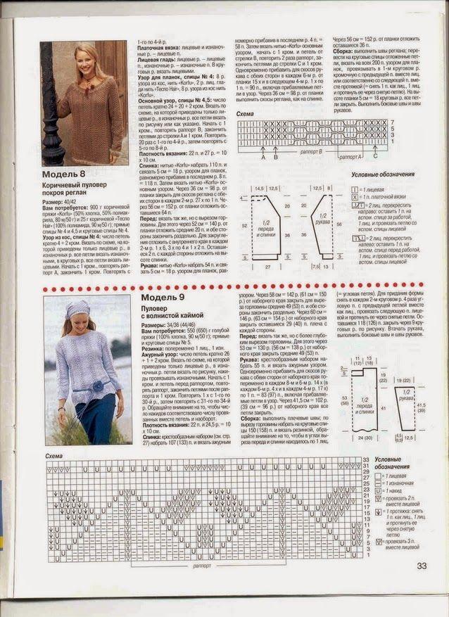 "Irina: Knitting Magazine ""Sabrina"" №3, 2003."