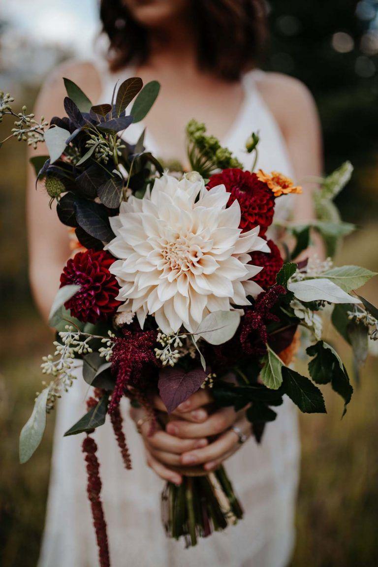 Der Herbst ist da! Neue Brautsträuße #fallbridalbouquets