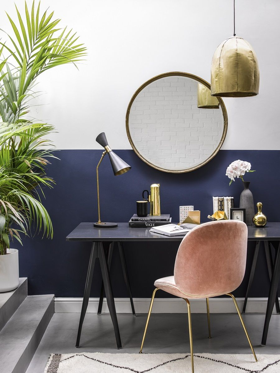 The Growing Popularity Of The Half Painted Wall In 2020 Living Room Diy Half Painted Walls Living Room Paint #two #toned #walls #living #room