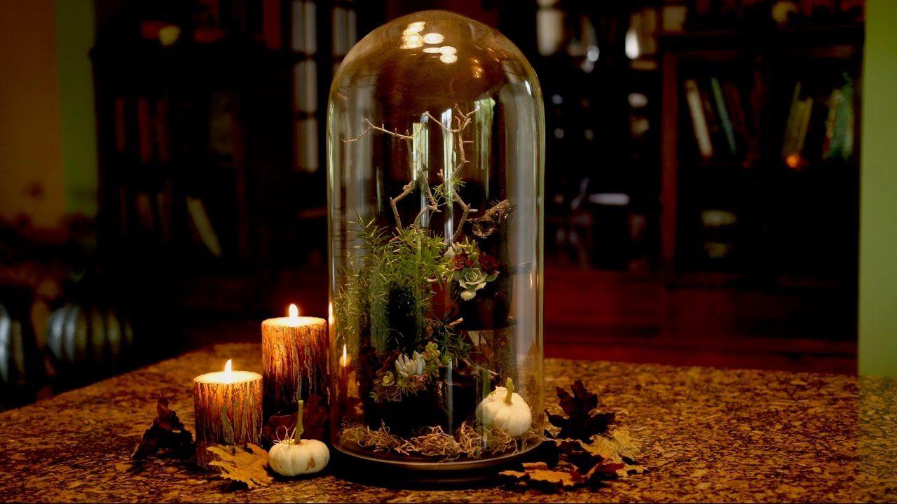 Rats + Succulents??? Halloween Centerpiece // Garden