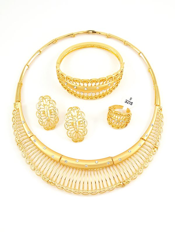 Gold plated fashion jewelry wholesale 97