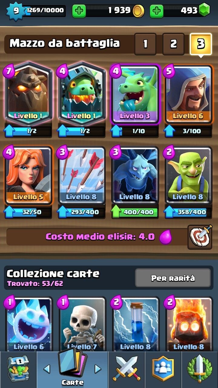 Pin by bill cai on clash royale clash royale deck clash