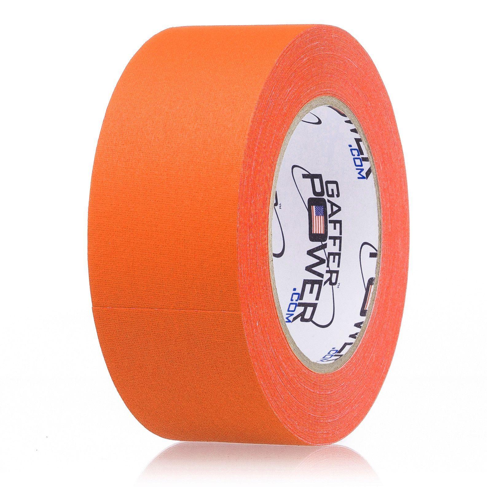 Gaffer Tape - Orange Fluorescent