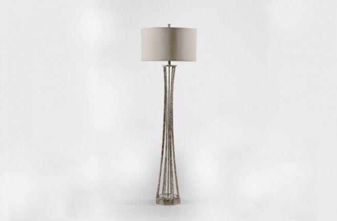 Rebecca floor lamp standing lamp gabby silver sch 151155 w 10 h 73 5