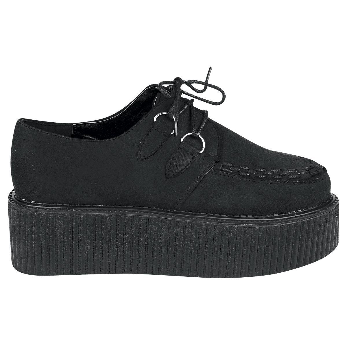Industrial Punk Creeper Zapatillas Negro QQUue