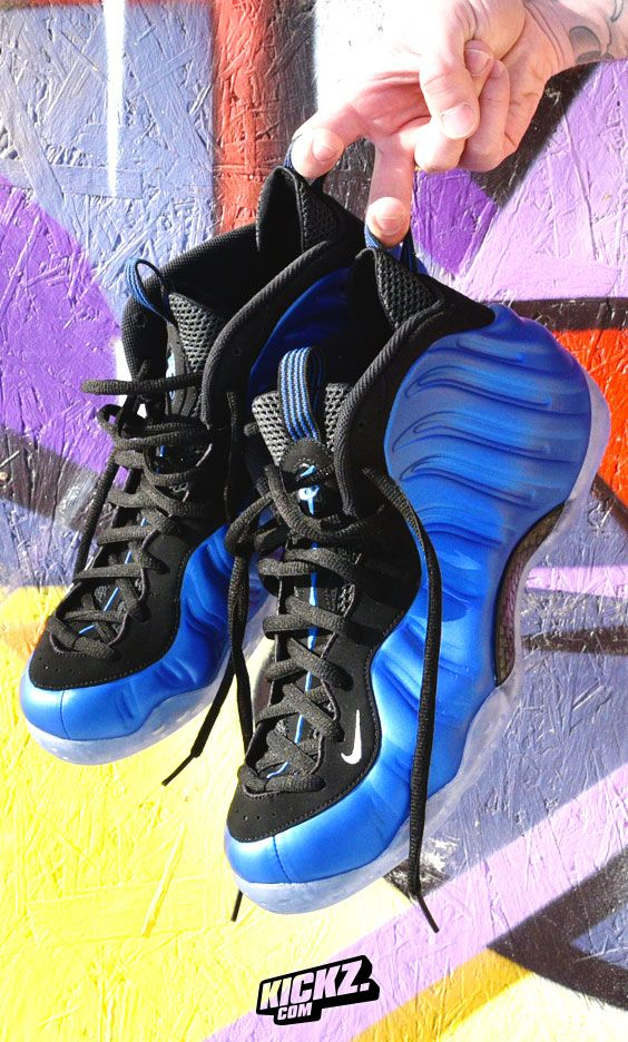 """b9cc5725cca0 NIKE AIR FOAMPOSITE ONE XX """"ROYAL"""" - The futuristic Eric Avar creation from  1997 is celebrating two decades of relevance with the original Penny  colorway"""