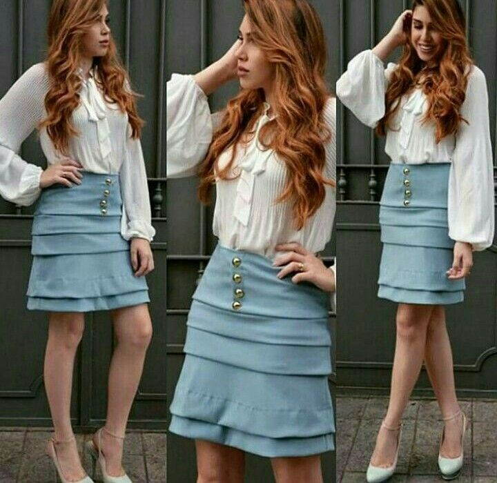 Pin by Raíssa Albuquerque on Moda | Skirt outfits modest
