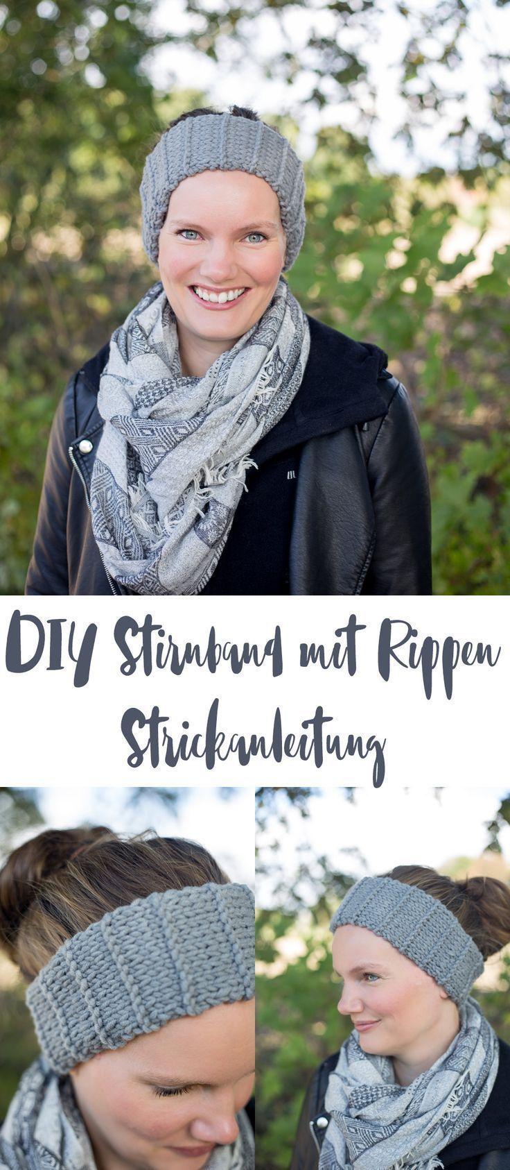 Photo of Knit DIY headband with ribs – small gift idea