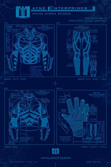 Top secret Bat suit blueprint  | batman | Batman fan art, Batman
