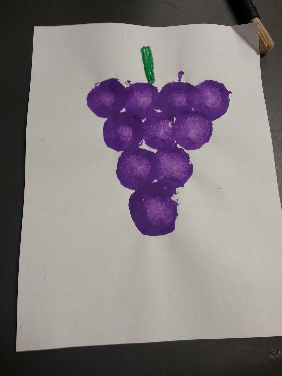 Colors And Fruit Classes Could Taste Stamp Paint With And Talk About Each Colored Fruit Red