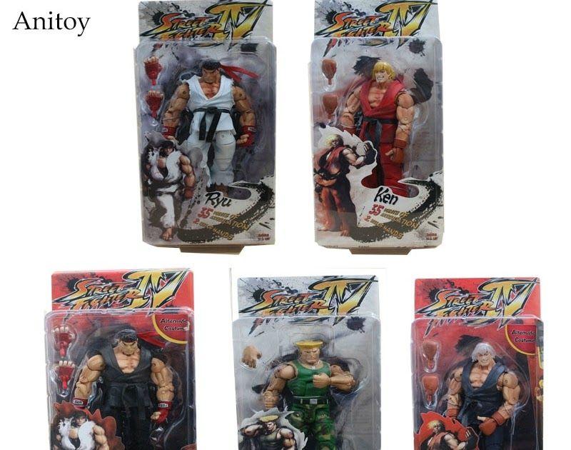 NECA Player Select Street Fighter IV Survival Model Ken 2