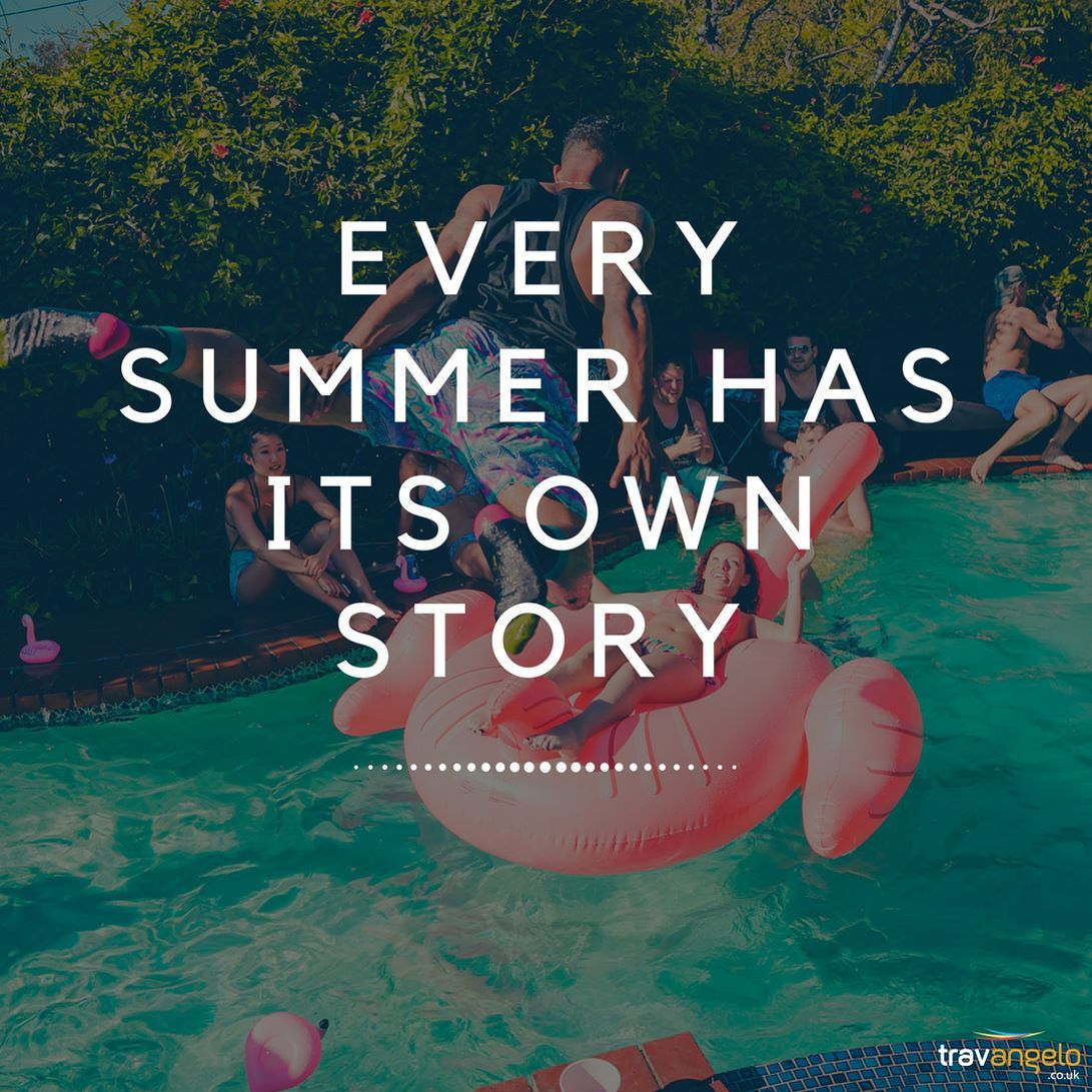 WRITE YOUR OWN SUMMER STORY... . . . . . . . #