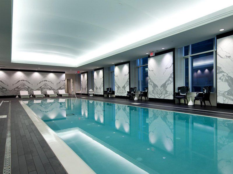 Stretch ceiling swimming pool google search wellness center pinterest swimming pools for Swimming pools downtown toronto