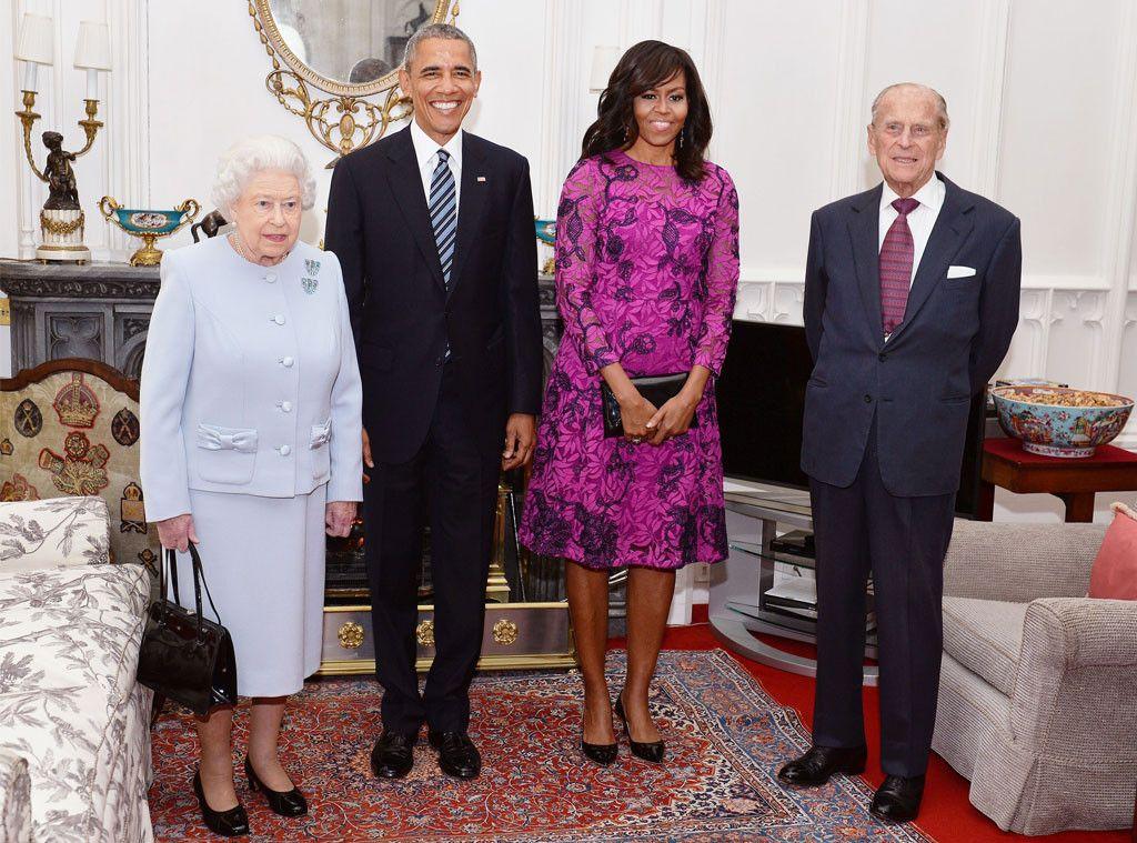Barack \ Michelle Obama Have Lunch With Queen Elizabeth II - michelle obama resume