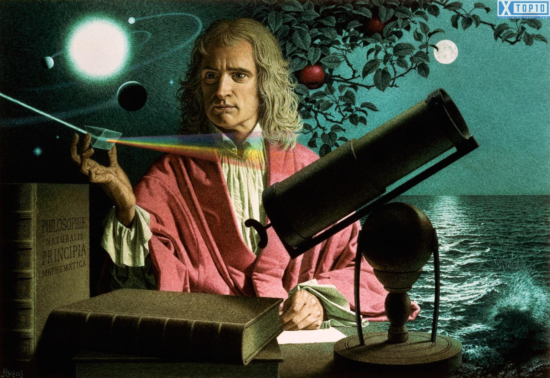 Image result for isaac newton top 10