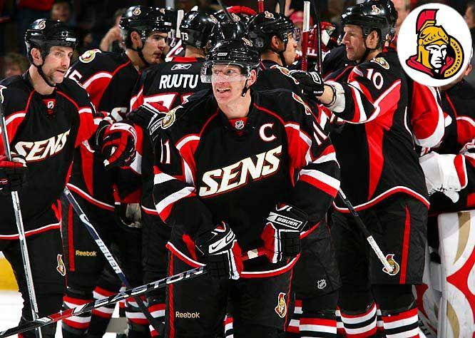 aed5d3bcc Ottawa Senators Alternate Jersey – 2008/09 to 2010/11   Hockey   Nhl ...