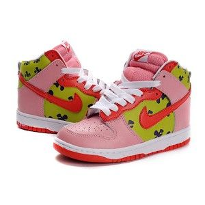 sale retailer 26d2b d35e9 Spongebob Nikes Patrick Star Dunks High Tops Shoes