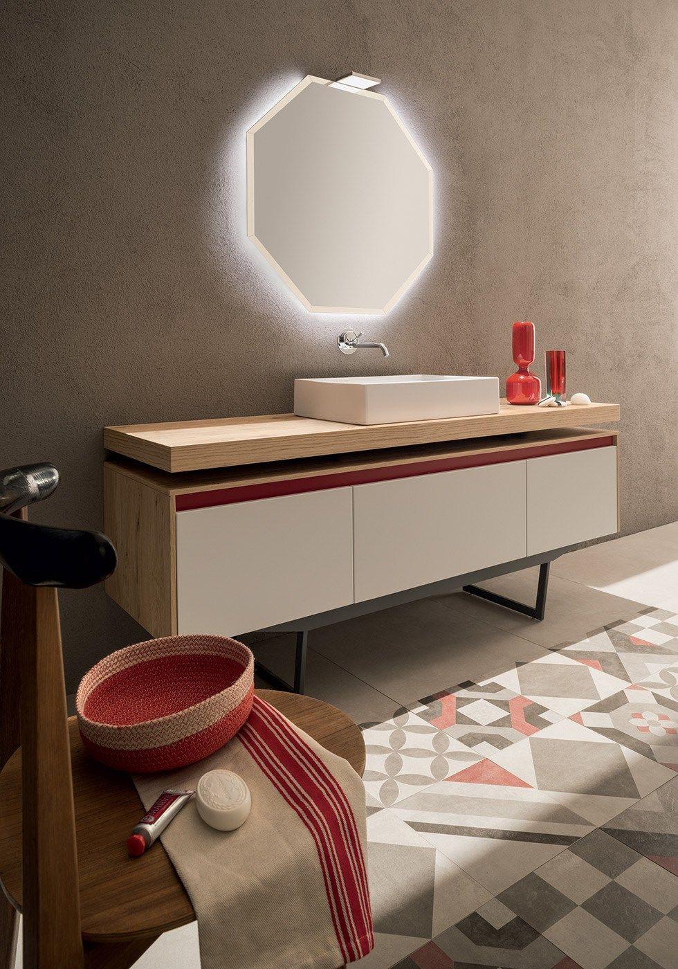Solid wood bathroom furniture set - RAB Arredobagno | Bathroom ...
