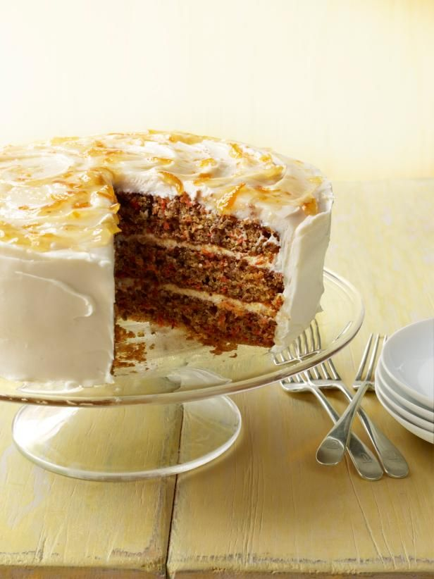 Three layer carrot cake recipe carrots cake and food get three layer carrot cake recipe from food network forumfinder Choice Image