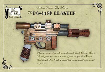 Steampunk Weapons | Steampunk Prop Gun - The DG-4450 Blaster
