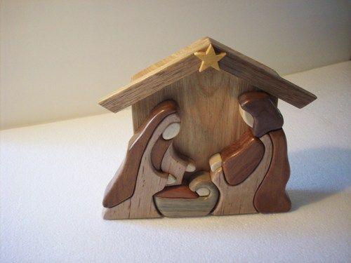 krippe basteln mit holz weihnachten pinterest. Black Bedroom Furniture Sets. Home Design Ideas