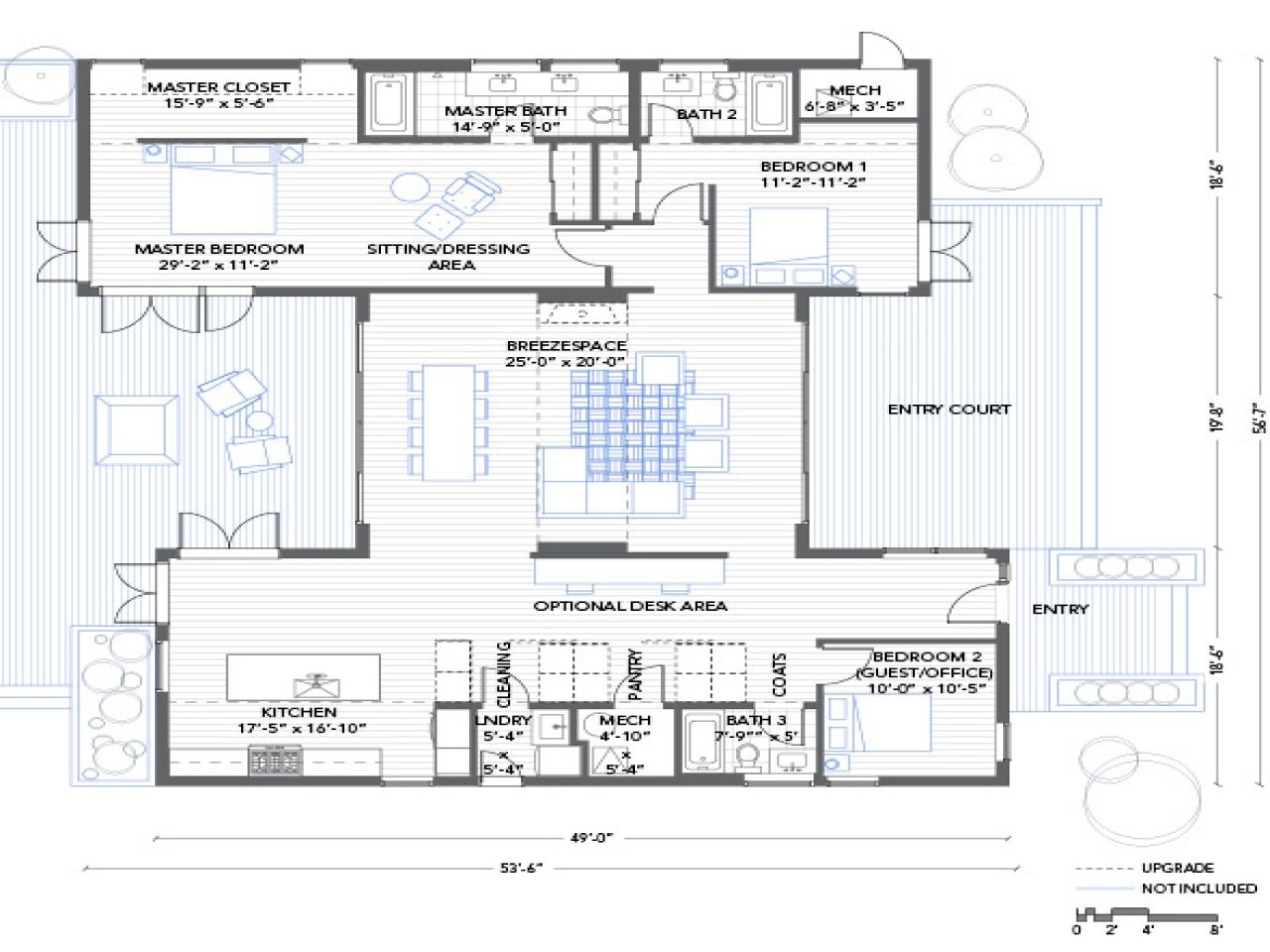 Shipping Container House Floor Plans And This 4 Bedroom Container ...
