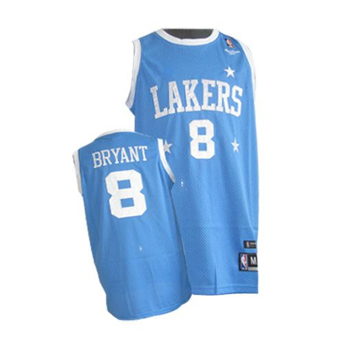 Men s Nike Los Angeles Lakers  8 Kobe Bryant Swingman Baby Blue Throwback  NBA Jersey 74e4f25c8