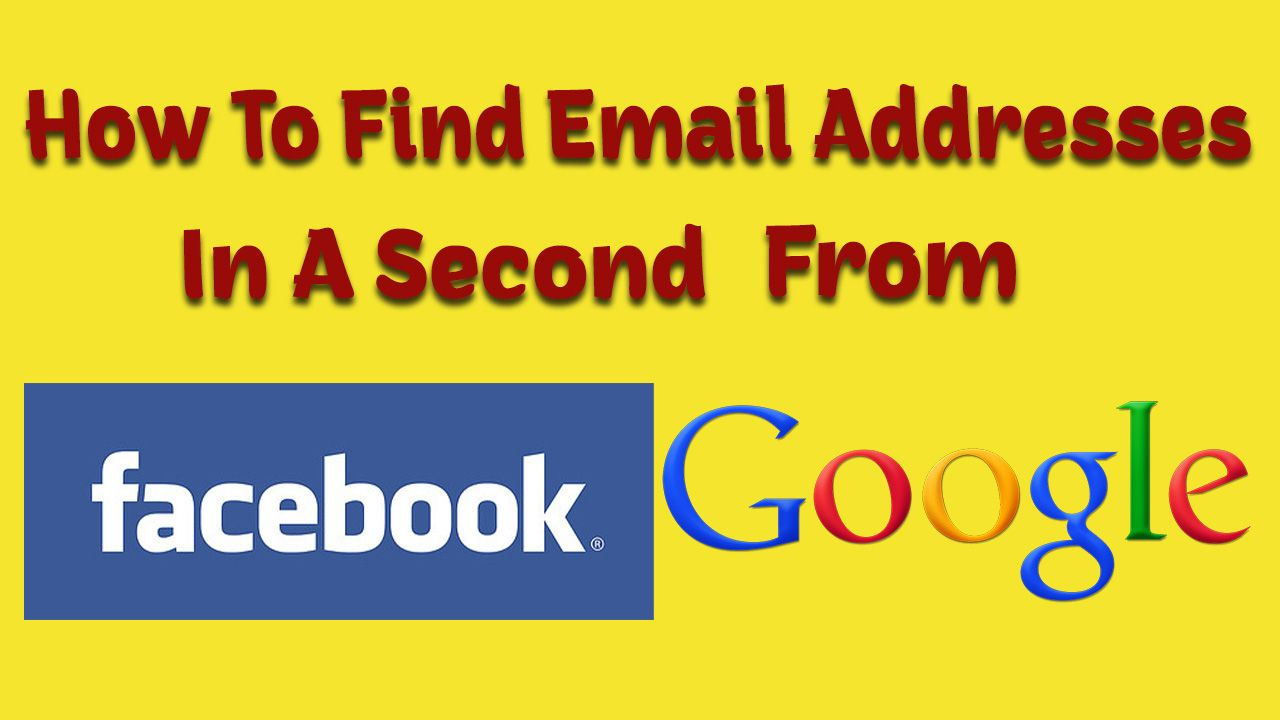 How To Find Email Address In A Second Best Free Blog Addressing Email Address