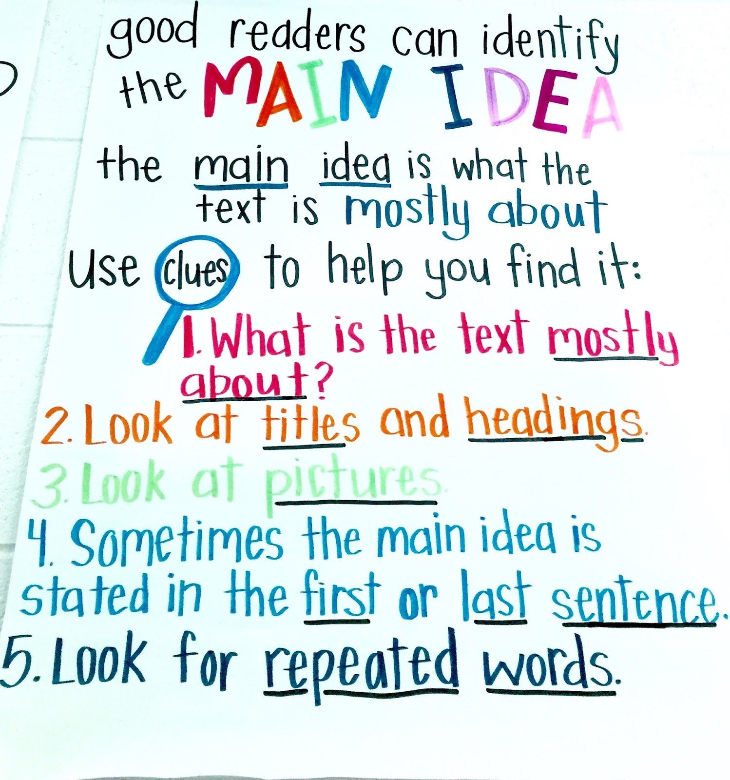 4 Anchor Charts For Teaching Nonfiction