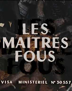 Les maîtres fous (The Mad Masters – 1955) is a short film directed by Jean  Rouch, a well-known French film director an… | Film director,  Documentaries, French films